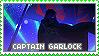 Stamp: Captain GARlock by sirbartonslady