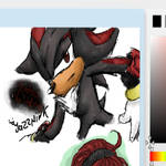 :iscribble: Shadow the hedgehog