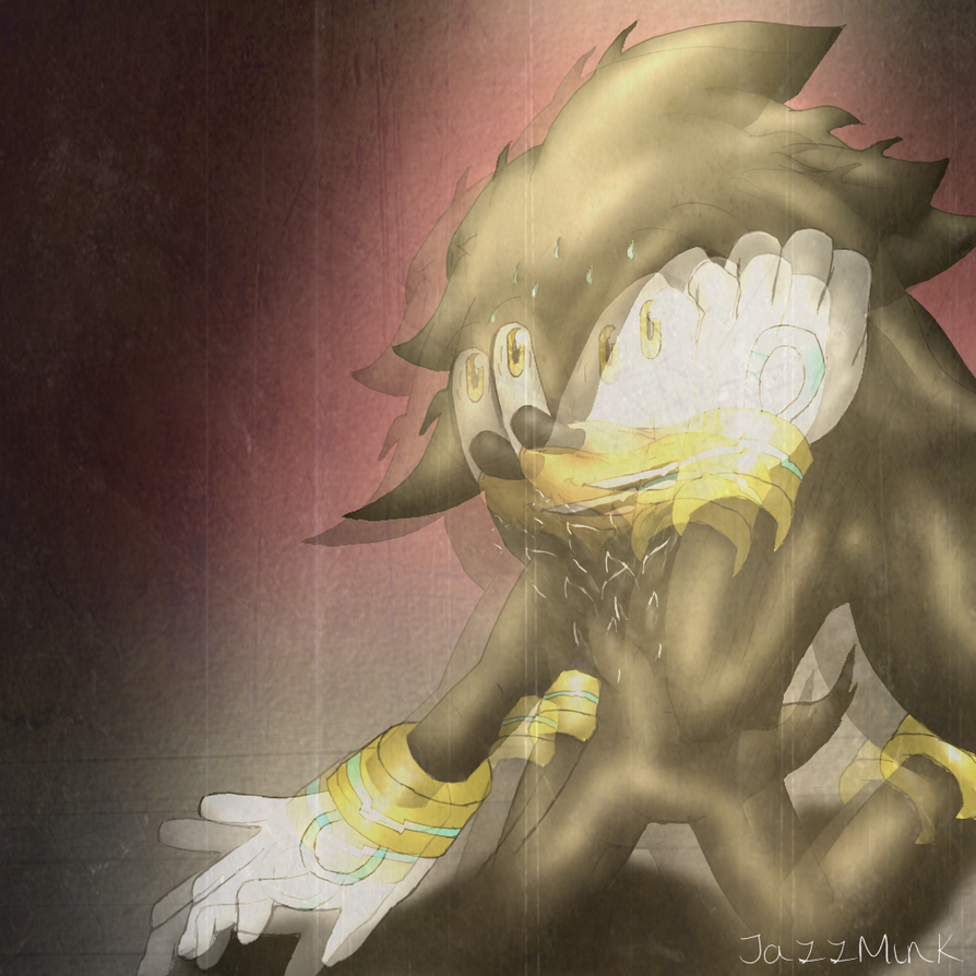 Evil silver the hedgehog