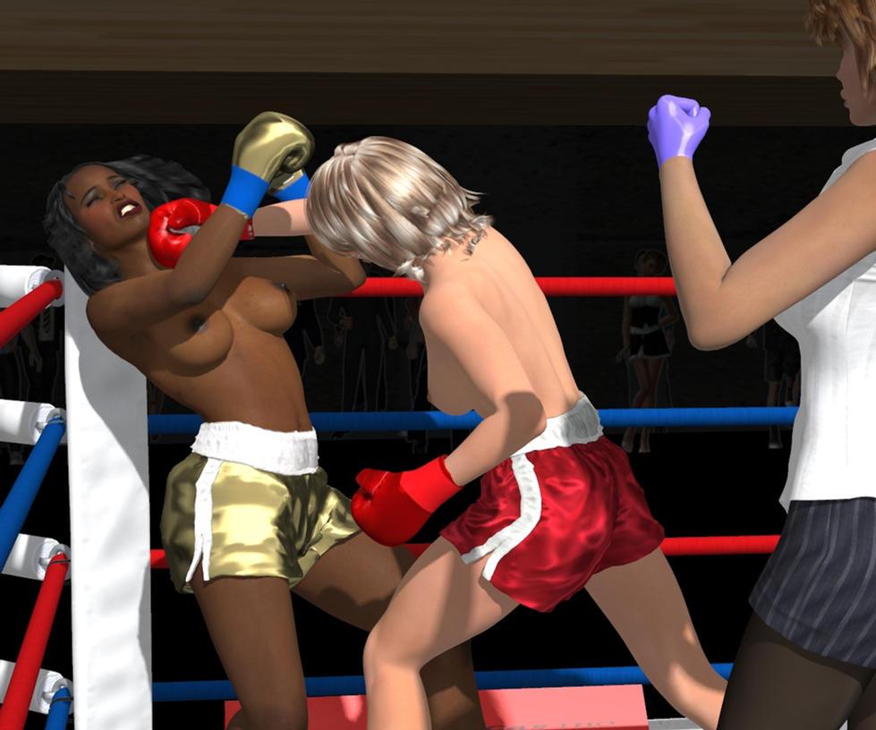 Hattie versus Laverne Grudge Match 016 by PaulineG1