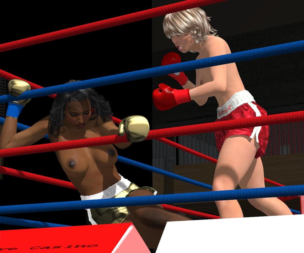 Hattie versus Laverne Grudge Match 017 by PaulineG1
