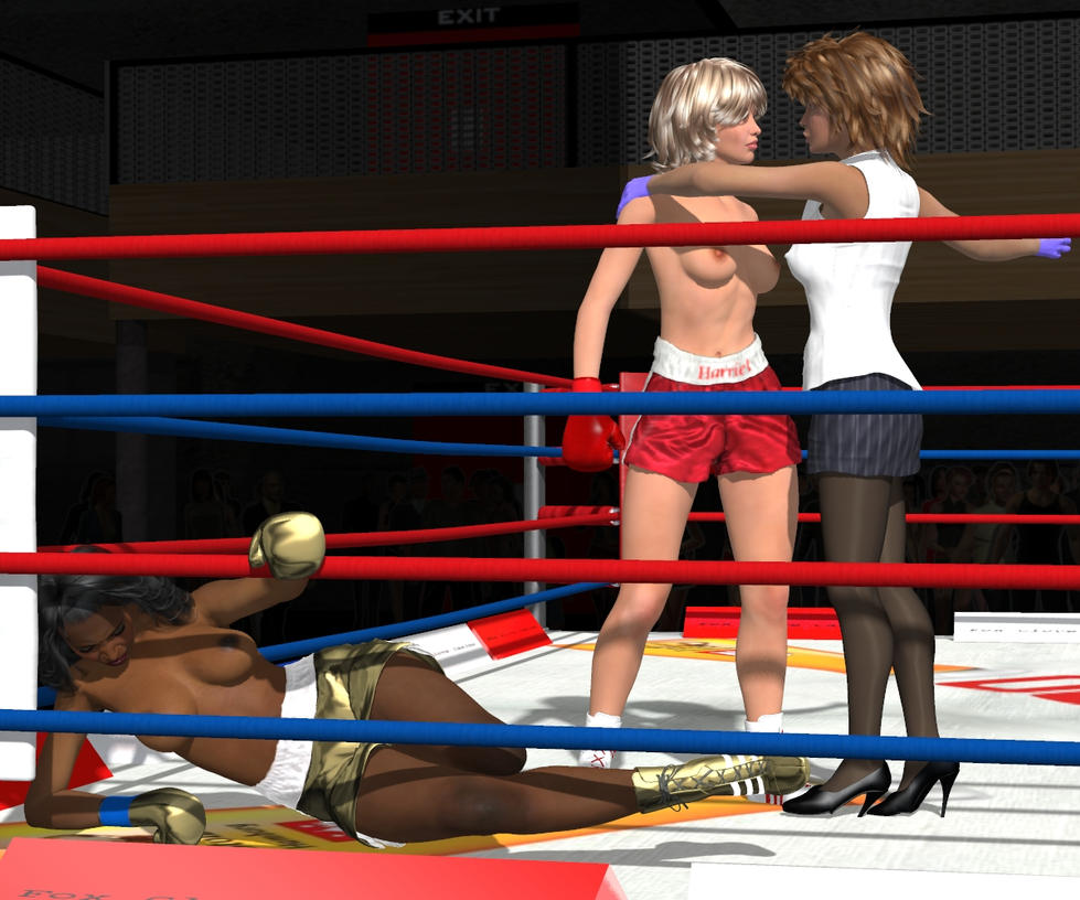 Hattie versus Laverne Grudge Match 018 by PaulineG1