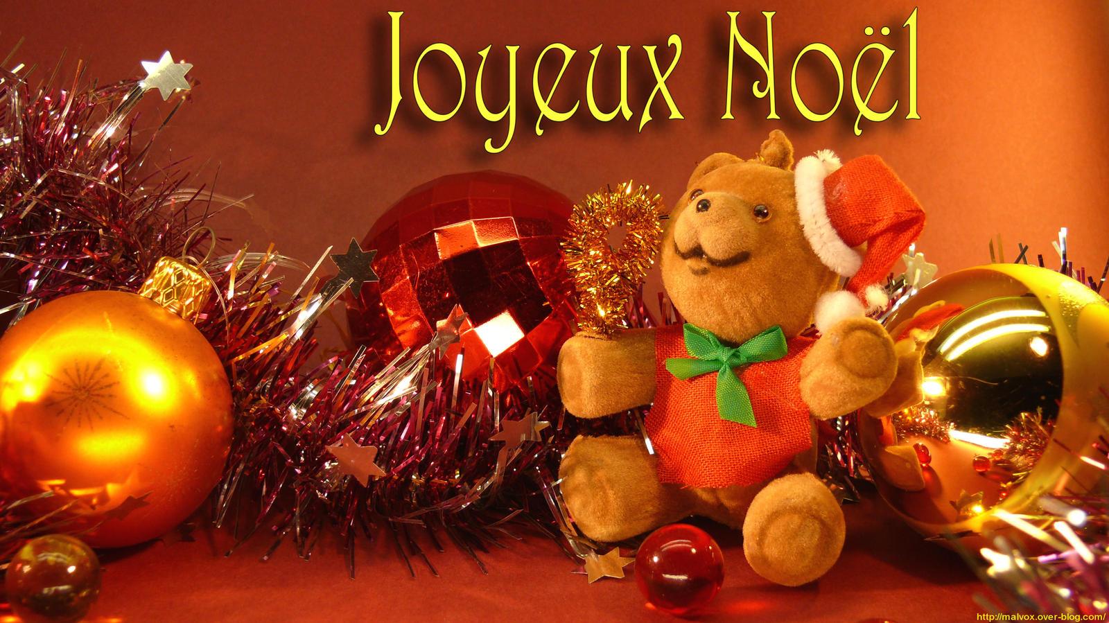 Joyeux noel ours by malvox on deviantart - Guirlande joyeux noel ...