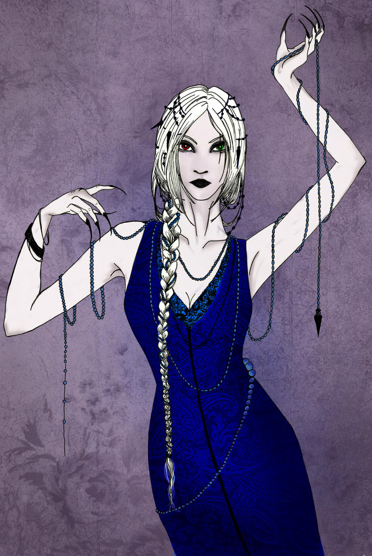 Winter dance for a winter witch by Lady-Oolong