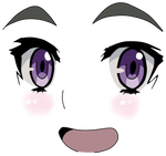 CHAIKA's Face by switchdraw