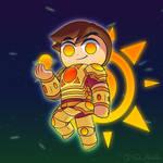 Kewtian Sun God, Sol