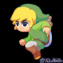 Toon Link Pixelart (alt)