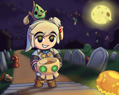 Halloween Toon Link (2021)