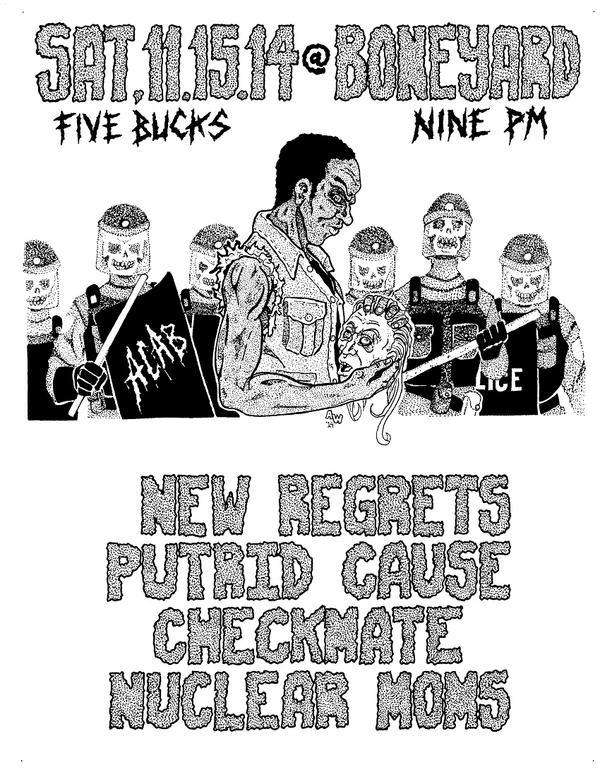 New Regrets Flier by AlexWarhead