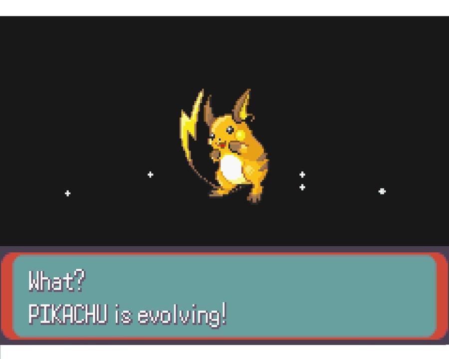 Pikachu Evolves into Raichu in Pokemon Emerald by PIKA-CHUUUUUU on ...