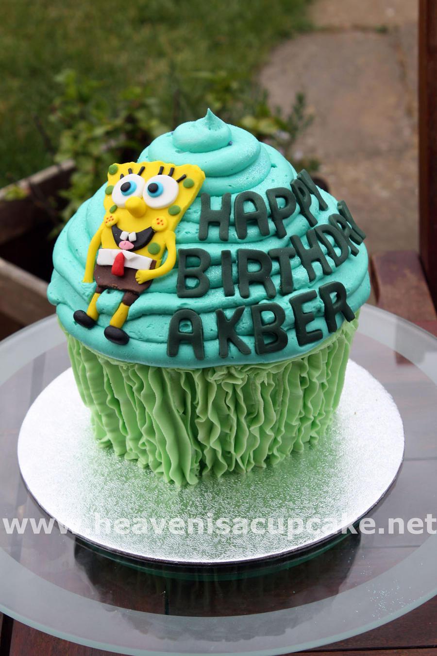 Spongebob Cakepants by peeka85