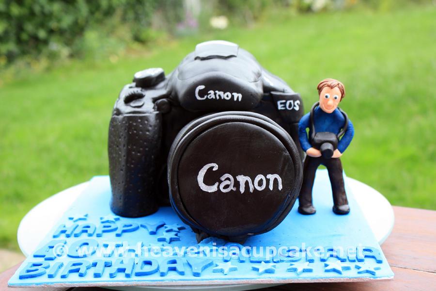 Canon Camera Cake By Peeka85 On Deviantart
