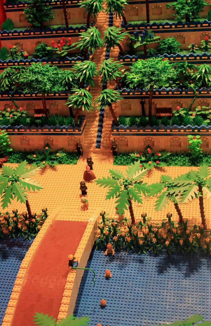 Hanging Gardens Of Babylon By Randomshooting ...
