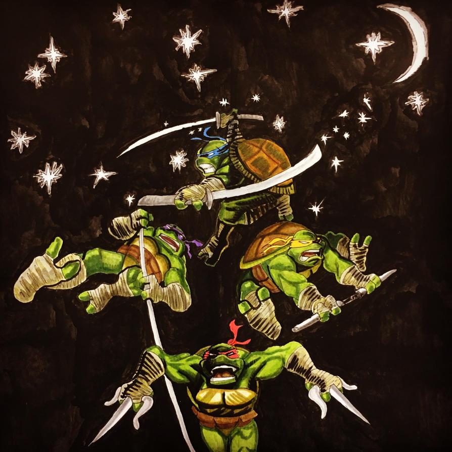 Teenage Mutant Ninja Turtles by dumbginge