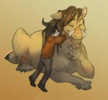 Cheerup hugs by SkullDog