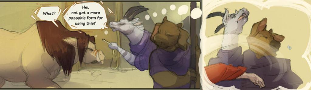 Goat Slap! By SkullDog by Cranky-Cat