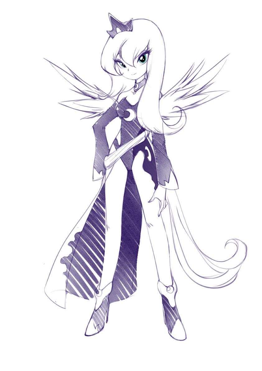 Princess Luna by jorama