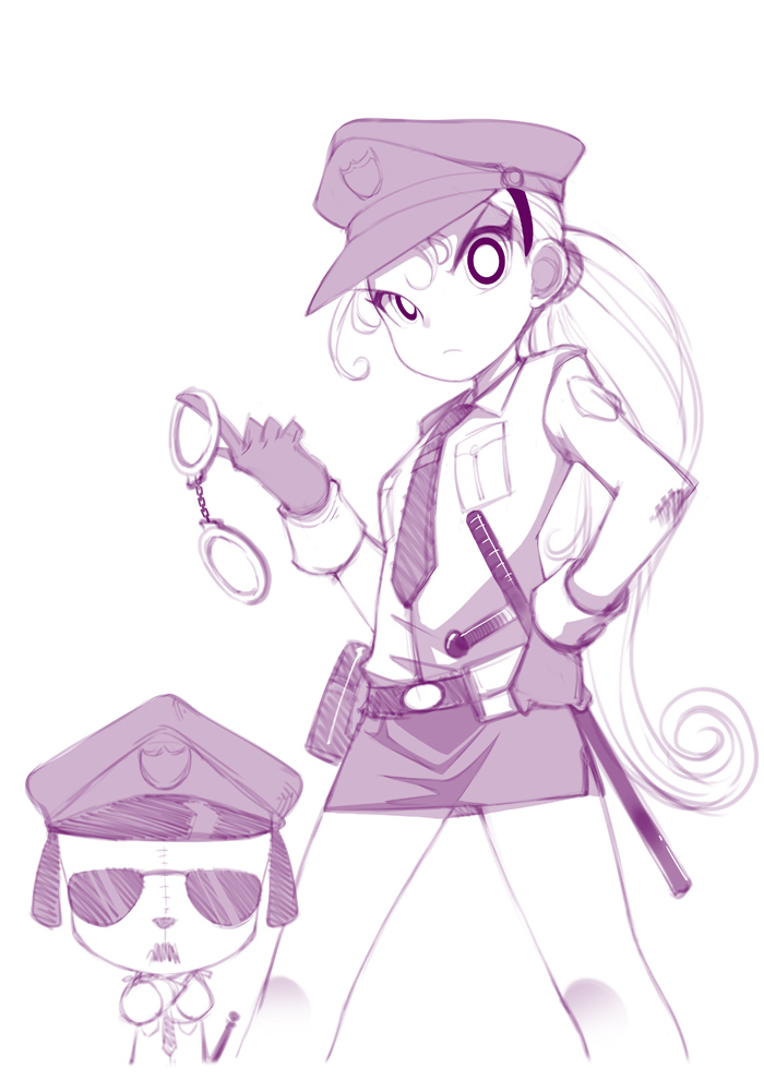 Police Bell handcuff your heart by jorama
