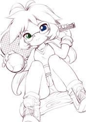 Marble Tennis by jorama