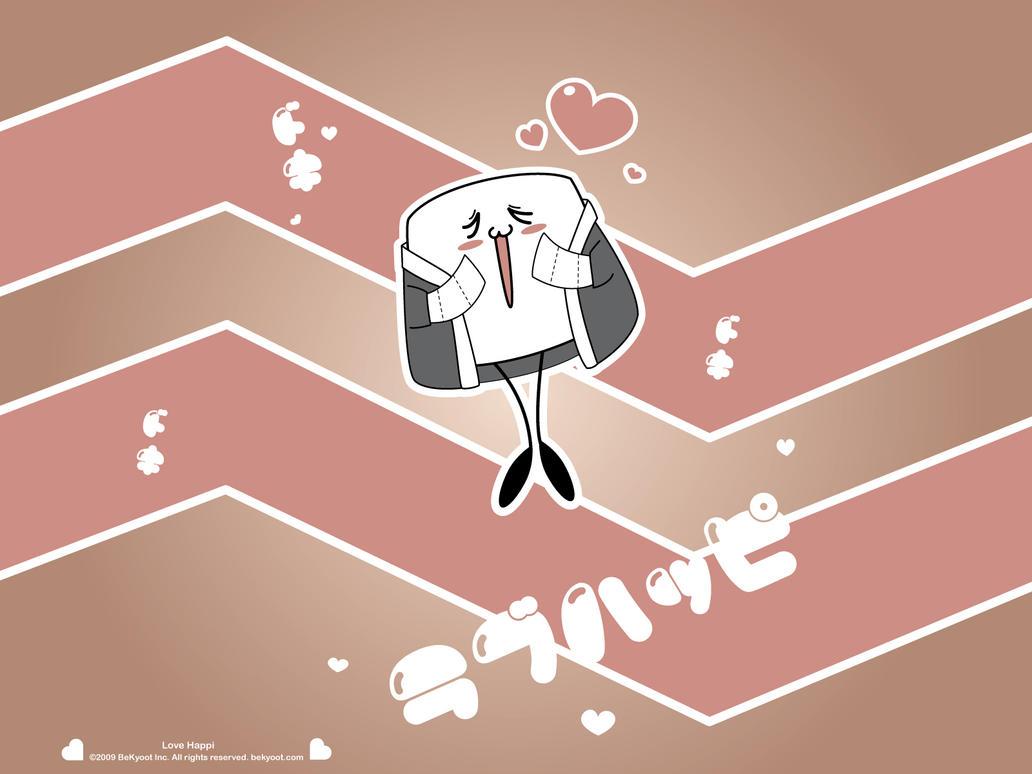 Love Happi Wall by lafhaha