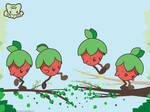 Jumpin' Berry Wallpaper