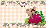 Strawberry Glompz Wallpaper