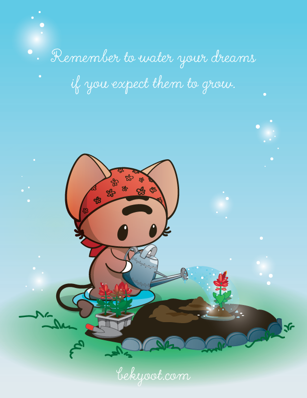 Water Your Dreams by lafhaha