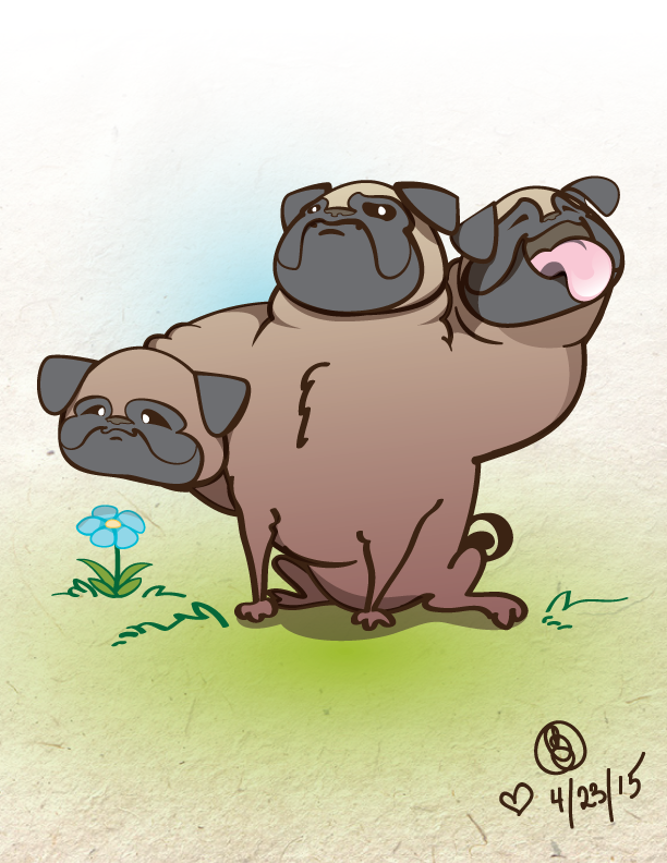Pugberus by lafhaha
