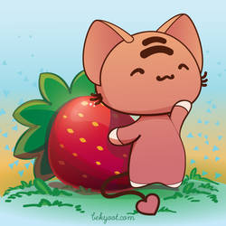 A Strawberry For Hump Day