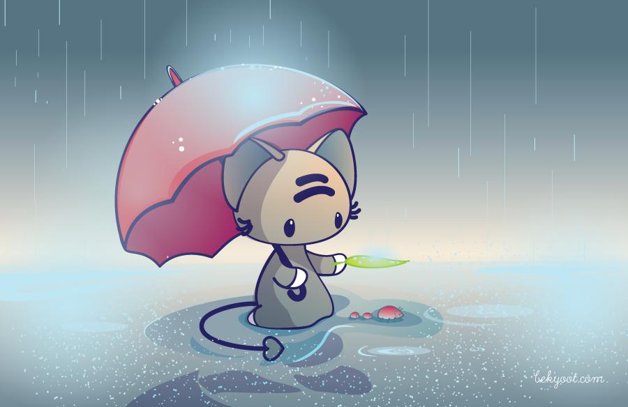 Umbrellas by lafhaha