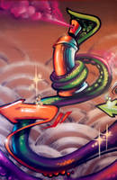 Tentacle Spray Can by estria