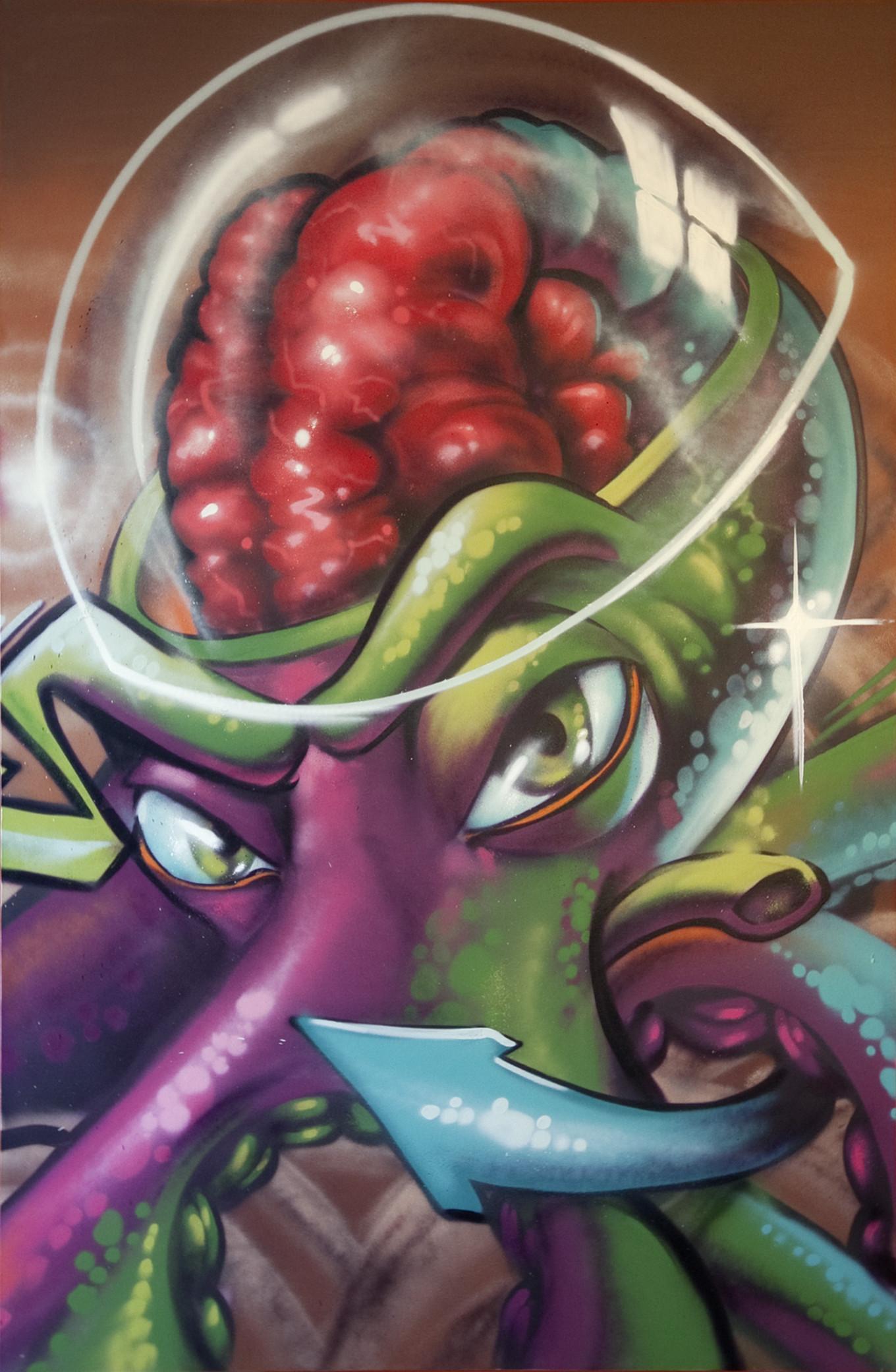 Hakaida Octopus by estria