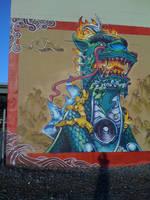 Chinese Kirin Guardian Estria Oakland by estria