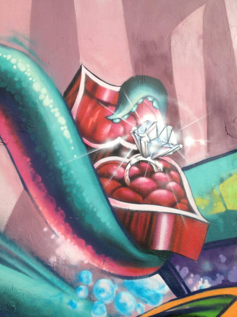 Diamond Ring Octopus by estria