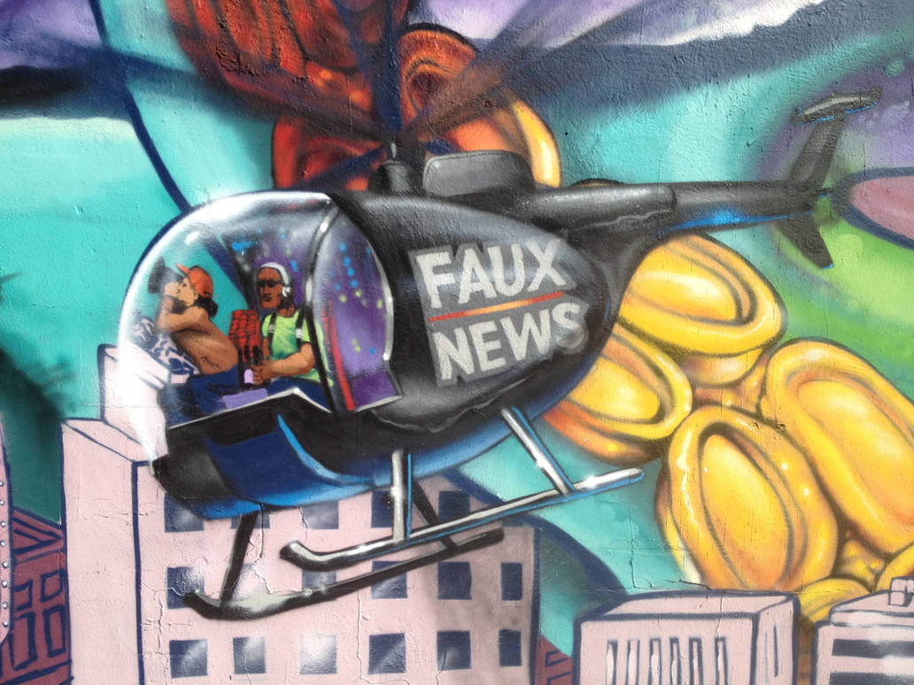 Helicopter Faux News by estria