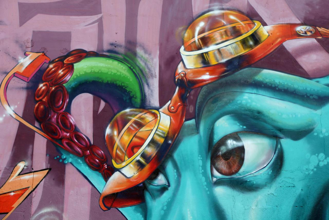 Octopus Goggles Miami by estria