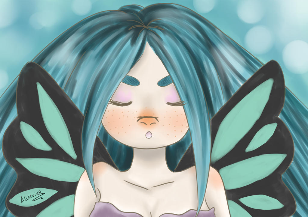 Aquatic fairy by Allteriel