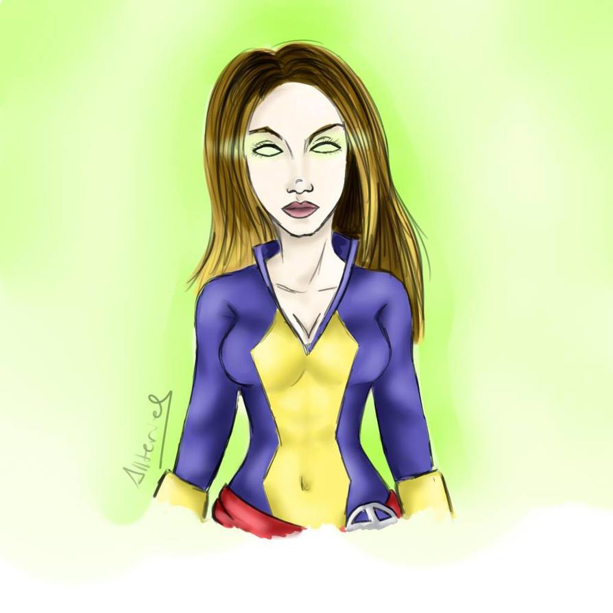 My oc in X-men by Allteriel