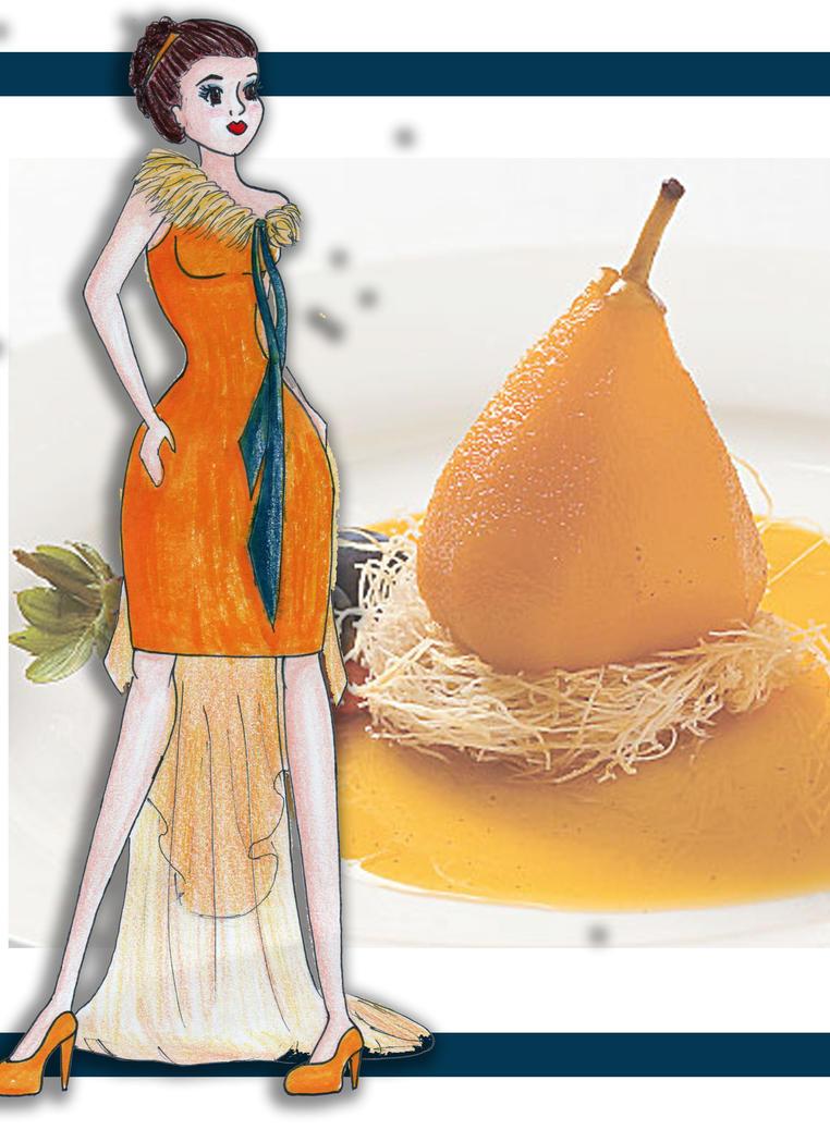 Saffron Pear by Evellynn