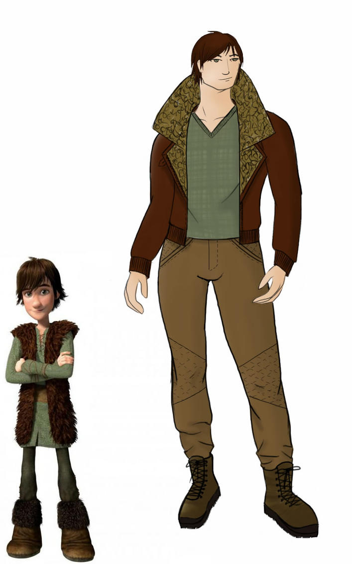 Hiccup by Evellynn