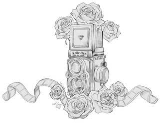 Rolleiflex Tattoo by MartaValentin
