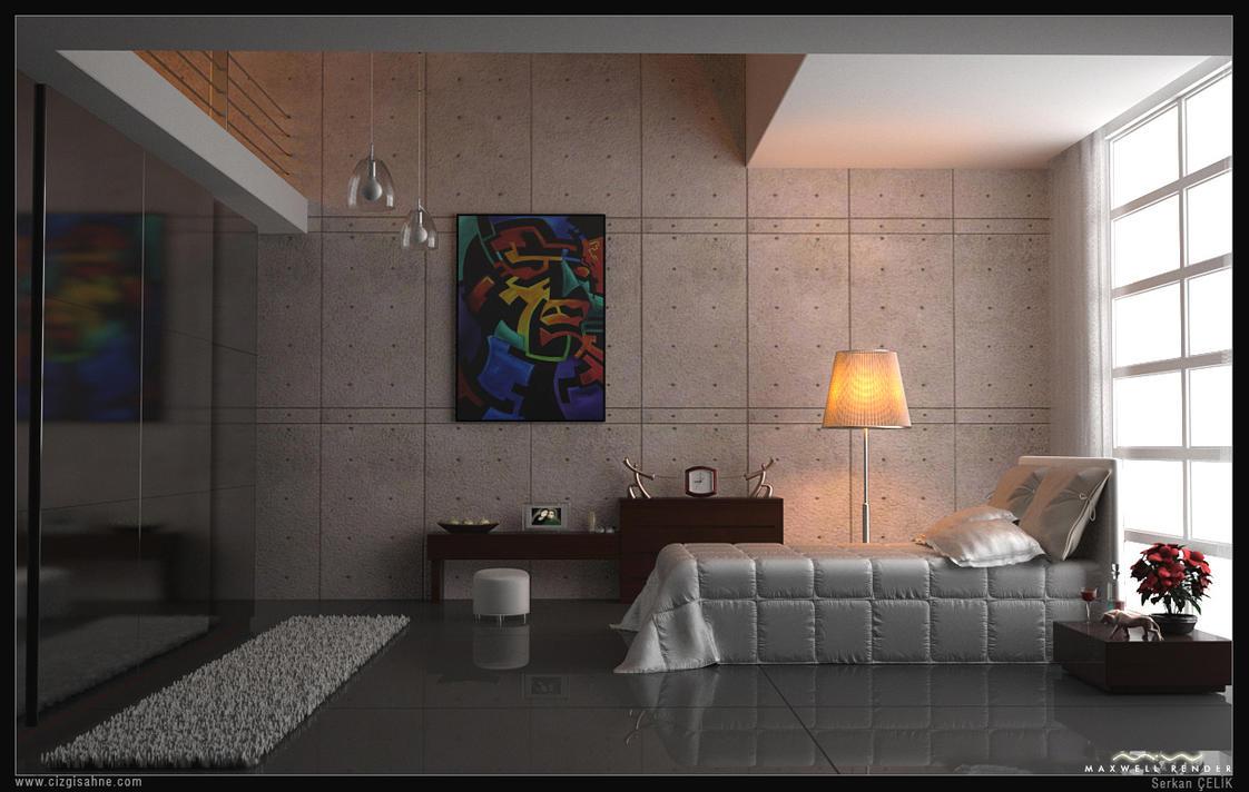 Bedroom Maxwell by xsekox