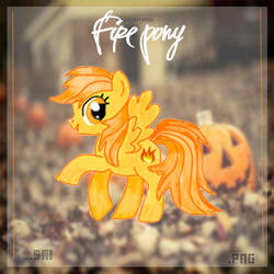 Fire pony .sai by LuuEditionss