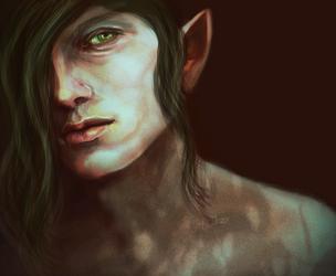 Young Iorveth by MaitsoKane