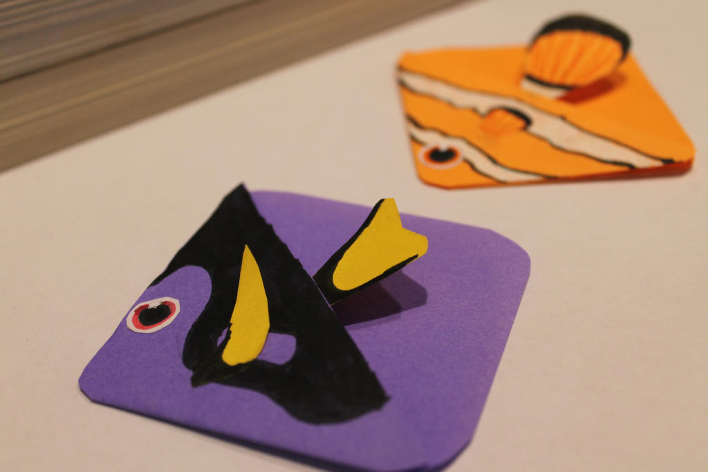 Finding Dory Inspired Bookmarks by MintMaker