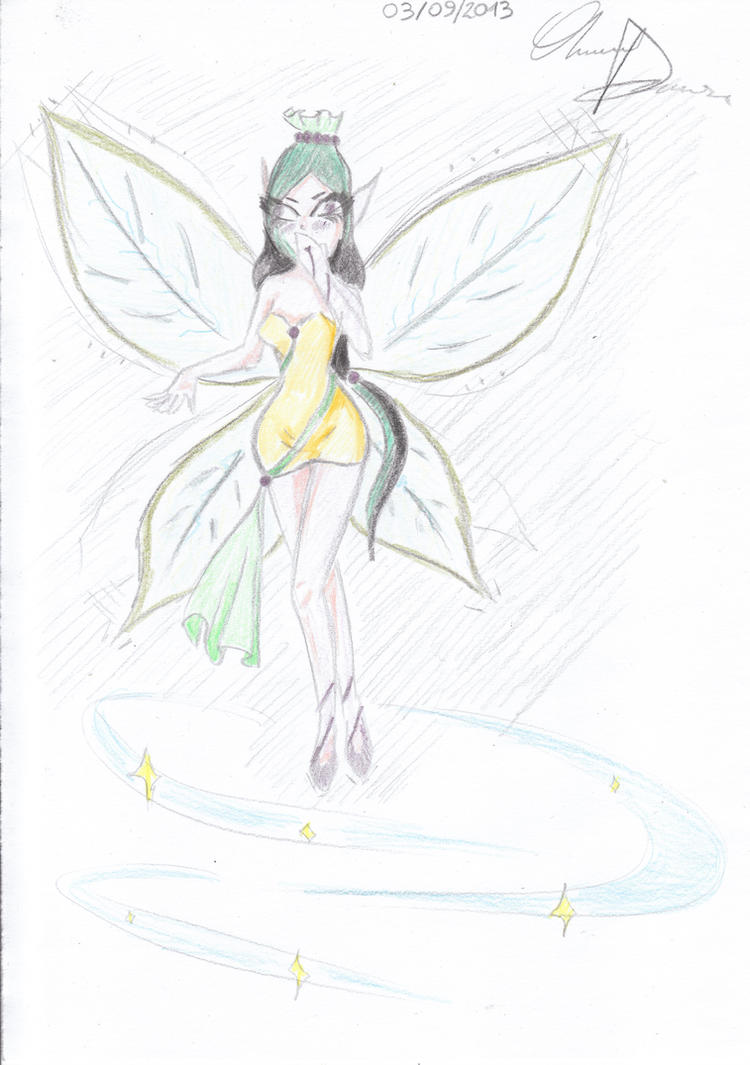 Little Fairy by portuguese-d-ann