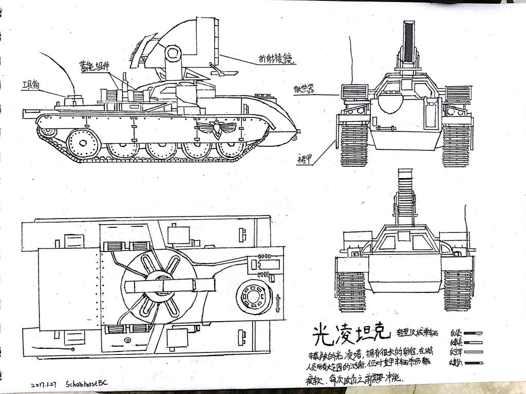 Light Ling tanks by ScharnhorstBC