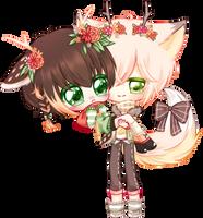 [T] Isuka and Naoki by Syunthia