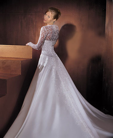 Wedding dress by hermiona1988