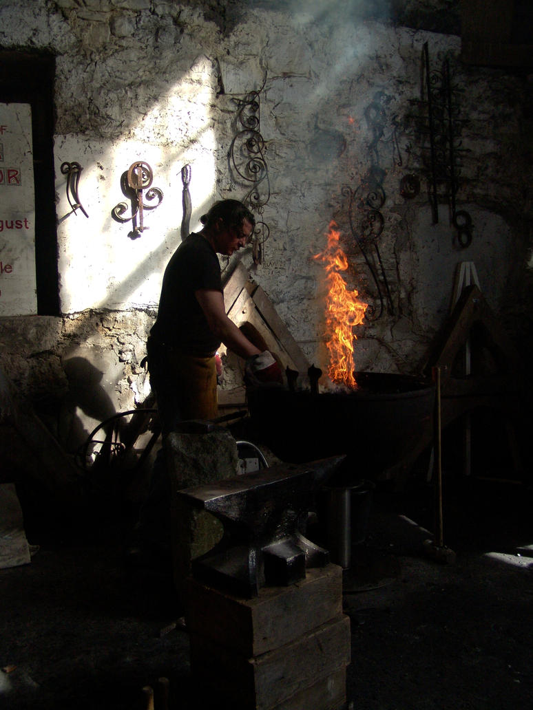 Blacksmith by ElaineOSullivan